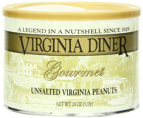 Virginia Diner Peanuts Unsalted 18 Ounce product image