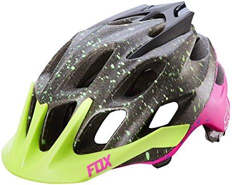 Fox Head Flux Flight Helmet, Black Pink, Large X-Large