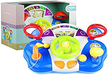 BSD Volante Interactivo para Sonidos de Panel de bebé: Amazon ...
