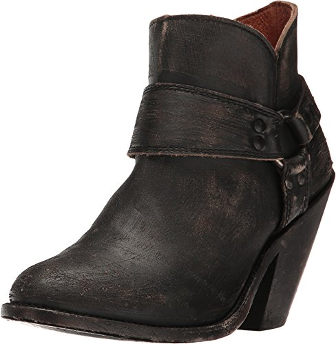 Distressed Fashion Boots - 8