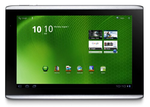 Acer Iconia Tab A500-10S16u 10.1-Inch Tablet Computer (Aluminum Metallic) (Acer Iconia Android Tablet)
