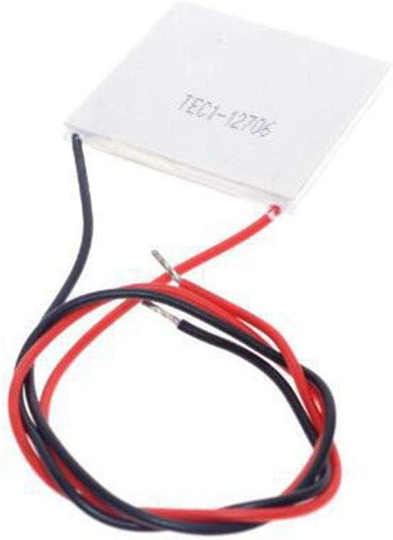 LafyHo TEC1-12706 12706 TEC Cooler thermo/électrique Peltier 12V 5A Cooler Peltier Semiconductor R/éfrig/ération Dissipateur Plate Module