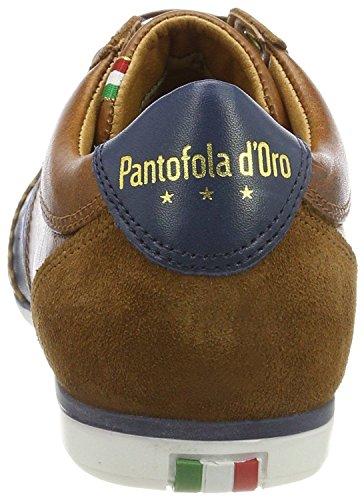 Pantofola Dora Savio Romagna Uomo Leren Heren Trainers Laag Bruin Heren