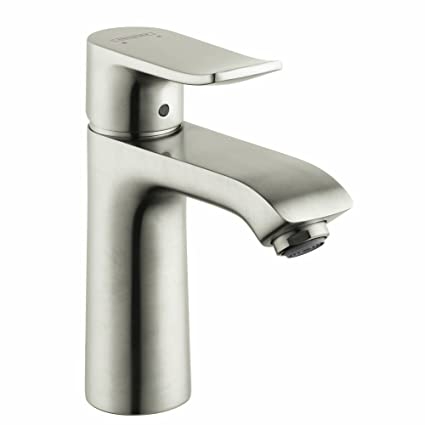 Hansgrohe 31080821 Metris Single Hole Bathroom Faucet With Lever
