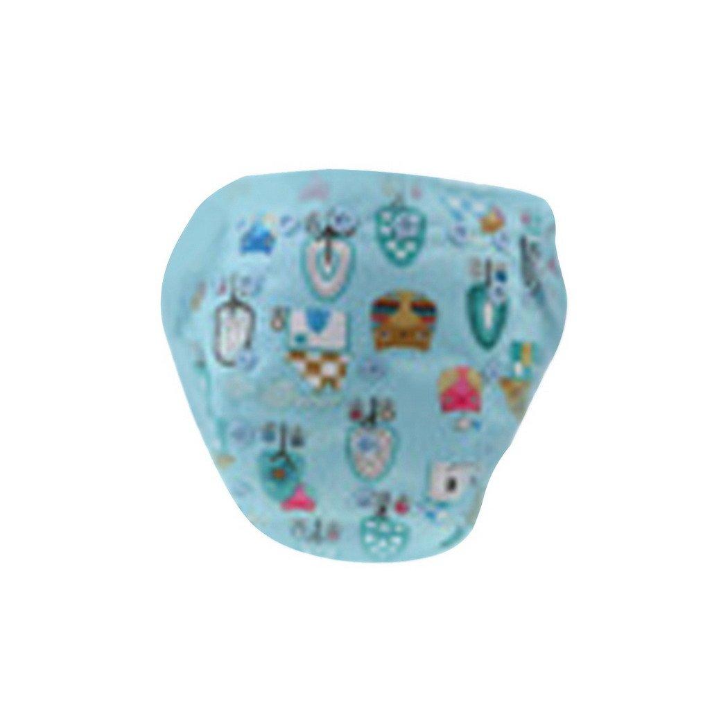 Happy Cherry Baby panno lavabile Unisex Ragazzo Ragazza Baby pannolino Stampa Baby pannolini pannolini di stoffa, misura regolabile Cartoon Pattern–diversi MODEL Blau 3 taglia unica TANGDA