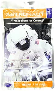 American Outdoor Products Astronaut Neapolitan Ice Cream, 0.7 oz,  (Pack of 10)