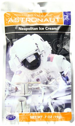 American Outdoor Products Astronaut Neapolitan Ice Cream, 7 oz,  (Pack of 10) (Milk Freeze Packs compare prices)