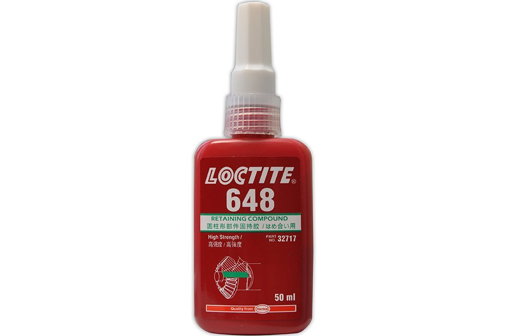 LOCTITE 648 AD ALTA RESISTENZA MANTENENDO COMPOSTO METALLO ADESIVO 50 ML B/B 11/17