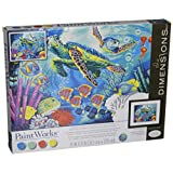 Dimensions  Crafts Paintworks Paint by Numbers, Sea Turtles