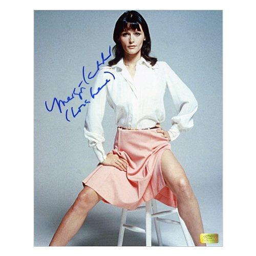 Margot Kidder Autographed 8x10 Lois Lane Pink (Margot Kidder Lois Lane)