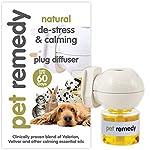 Pet Remedy Natural De-Stress and Calming Plug-In Diffuser, 40 ml