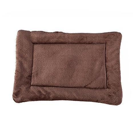 Cama de mascota caliente y suave Alfombra de cojín para perros (XL:100*