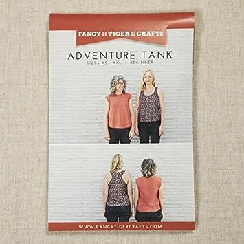 Fancy Tiger Crafts Damen Schnittmuster Adventure Tank Tops: Amazon ...