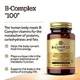 """Solgar B-Complex""""100"""", 150 Vegetable Capsules"""