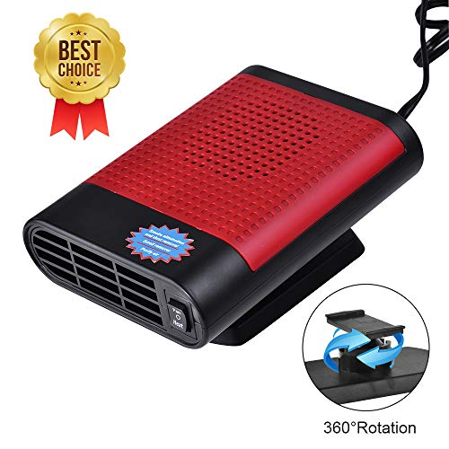 【New Upgrade】 Enhanced Edition Portable Car Heater & Air Purifier