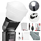 Gary Fong Lightsphere Collapsible with Speed Mount (Generation 5) with XPIX Accessory Kit