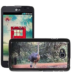 Just Phone Cover Hot estilo teléfono móvil PC carcasa rígida//m00139030ramo pájaro África Safari Limpopo//LG Optimus L70MS323