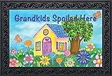 Briarwood Lane Grandkids Spoiled Here Spring Doormat Floral Grandchildren 18'' x 30''