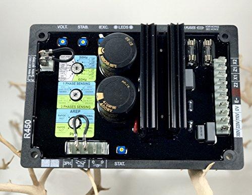 R450 AUTOMATIC VOLTAGE REGULATOR FOR GENERATOR AVR - 1 YEAR