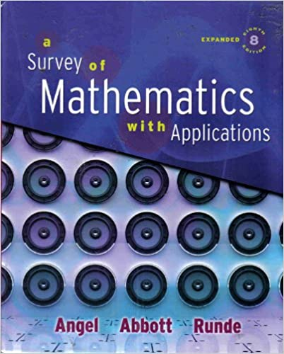 a survey of mathematics with applications 10th edition free