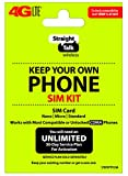 #7: Straight Talk Keep Your Own Phone Activation Kit (4G LTE) - Verizon Compatible