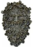 Green Man Plaque in Moss Finish