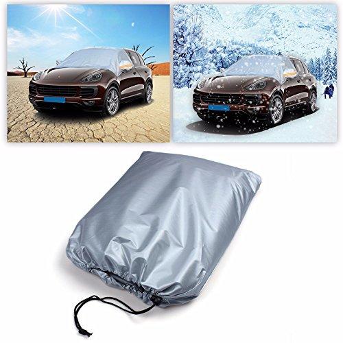 Amazon.es: tekcam coche parabrisas nieve Cover protege parabrisas limpiaparabrisas/de sol lluvia nieve hielo Frost se adapta a la mayoría vehículo SUV ...