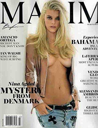 Maxim Magazine (March, 2017) Nina Agdal Cover pdf