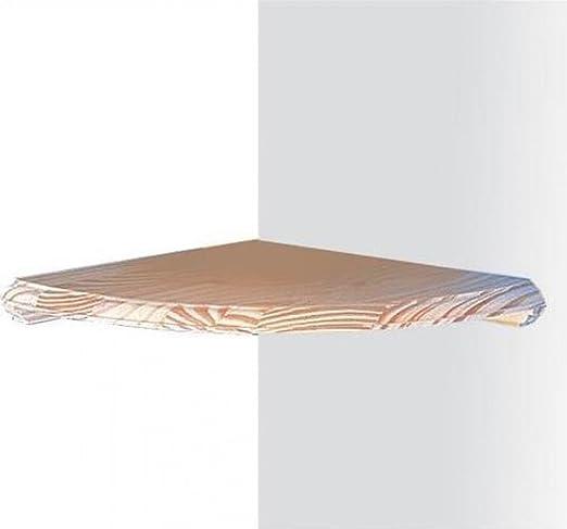 Core Natural Wood Corner Shelf Kit 8
