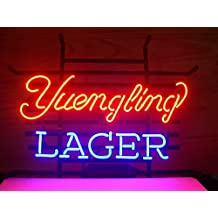 Yuengling Lager Beer neon Signs Pub Display Beer Neon Light Signs Handicrafted Real Glass Tube19x15 THE FASTEST FREE SHIPPING