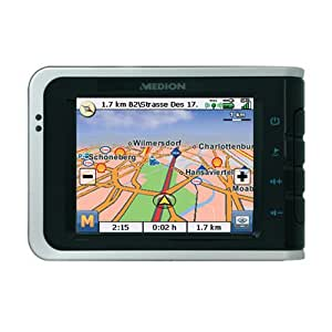 Medion GoPal PNA 515 m-II móvil de navegación PNA 1 GB Tarjeta SD de Europa Occidental (Bluetooth y manos libres)
