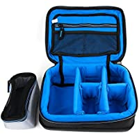 Protective EVA Case (in Blue) for the Olympus Digital Voice Recorders: DM-620, DM-650, DM-670, DM-901, DP-211, DP-201, DP-211, DP-311 & DS 2500 - by DURAGADGET