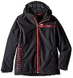 Spyder Boys Reckon 321 chaqueta, X-Large, negro / espacio / fórmula Imprimir