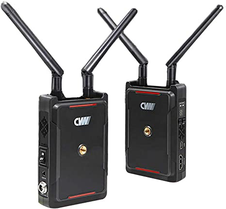 CVW Swift 800 800ft Sistema de transmisión de vídeo inalámbrico HDMI 1080P HD Imagen Receptor transmisor inalámbrico para Smartphone Monitor DSLR, Gimbal con Puerto de Salida: Amazon.es: Electrónica