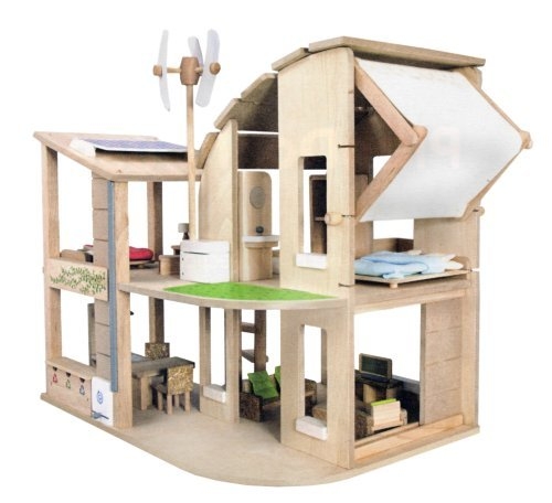 Plan Toys The Green Dollhouse with ()
