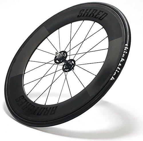 BROTURES ブローチャーズ SHRED88 Carbon Deep Wheel シュレッド88 カーボン ディープ ホイール B01J7GAH9G   700c Clincher