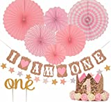 Best Girl Dolls With Gorgeous Princesses - FIRST BIRTHDAY DECORATION SET FOR GIRL - 1st Review