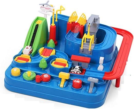 YHDD Niños, niñas, niños, juguetes, rompecabezas, niños y niñas, vagones de coches, juegos interactivos de coches,