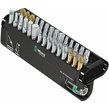 Wiha 79495 31 piece xlselector bit set with slotted phillips torx hex bits - Douille torx femelle brico depot ...
