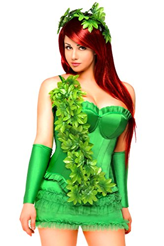 Women's Green Poison Ivy Costume (X-Large) ()