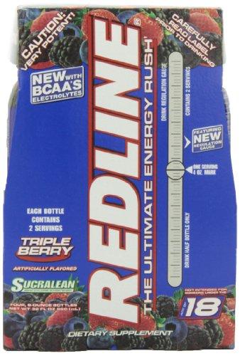 VPX Redline RTD Triple Berry, 8 Ounce Bottles (Pack of (Rtd Triple Berry)