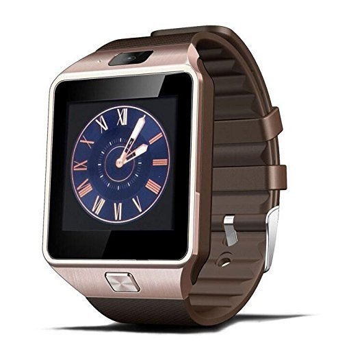 TechComm DZ09 Smart Watch With 0.5 Mp Camera Bluetooth Gsm For Android Phones by TechComm