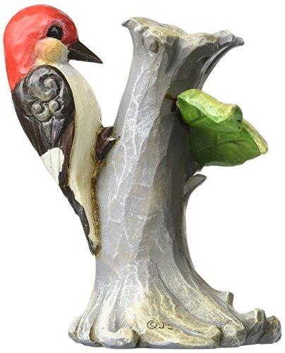 Department 56 Jim Shore Heartwood Creek Mini Woodpecker on Tree Figurine, 3