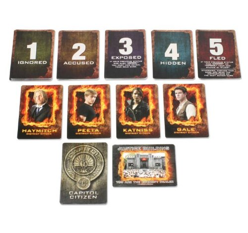 The Hunger Games Movie JabberJayCard Game by NECA