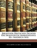Bibliothek Deutscher Dichter des Siebzehnten Jahrhunderts, Wilhelm Mller and Wilhelm Müller, 1145520189