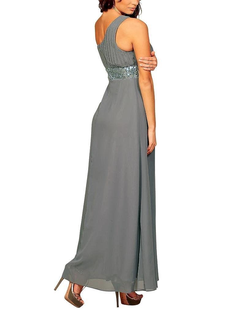 Fashion House - Vestido de noche para mujer, largo, formal, con un ...