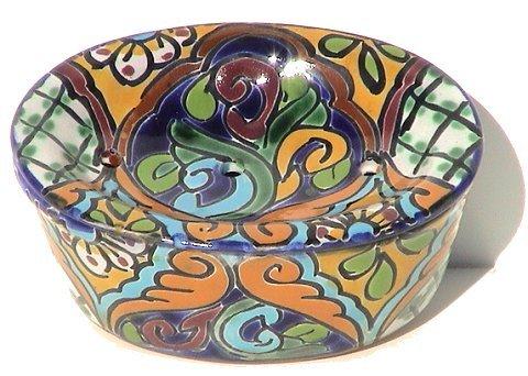 Fine Crafts Imports Multicolor Talavera Soap Dish