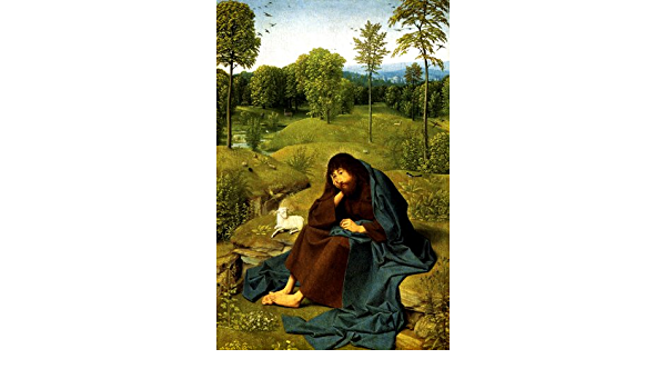 Saint John Baptist In The Wilderness Biblical Painting By Geertgen Jans Repro