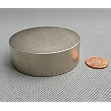 """AOMAG Magnet Monster NdFeB Disc Magnet Dia 60x20 mm Super Strong Neodymium Permanent Magnets 2.35""""x0.78"""" Rare Earth Lifting Magnets"""