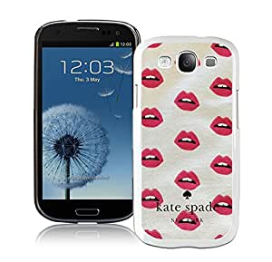 Popular Customize Samsung Galaxy S3 Phone Case Kate Spade New York Unique Cover Case For Samsung Galaxy S3 I9300 246 White